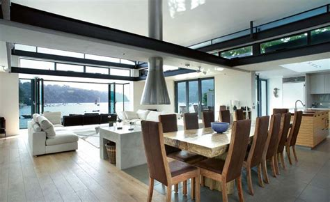 kitchen design plans with island open plan living how to get it right homebuilding