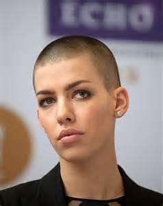 Short Hair Women Buzz Cut