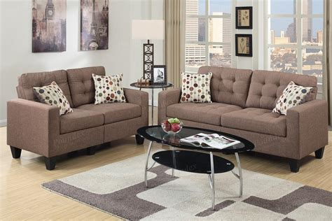 Sofa And Loveseat Sets 500 by Brown Fabric Sofa And Loveseat Set A Sofa