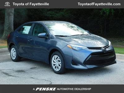 Toyota Fayetteville Ar by New Toyota Corolla At Toyota Of Fayetteville Serving Nwa