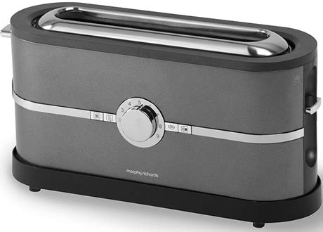 Slimline Toaster 2 Slice by Morphy Richards Toaster Latitude And Food Fusion