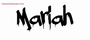 Graffiti Name Tattoo Designs Mariah Free Lettering - Free ...
