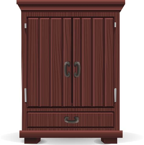 image of armoire computer free vector graphic armoire storage wardrobe free