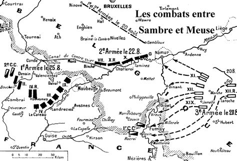 ou se trouve maubeuge la bataille de charleroi du 21 au 23 ao 251 t 1914 le 33e