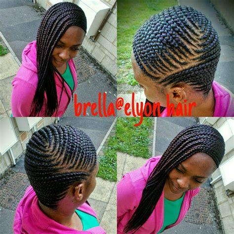 ghana braids    side  braids pinterest
