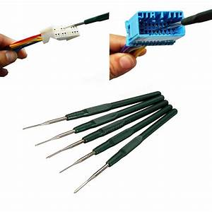 5pcs Automotive Wiring Harness Terminal Removal Tools Maintenance Sale