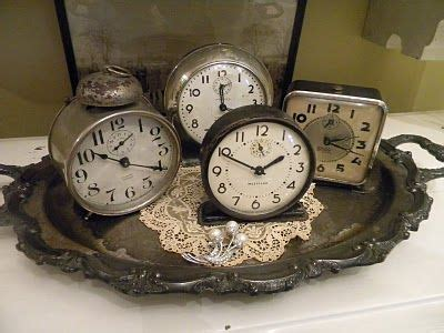 vintage vanity horloge horloges pendule horloge