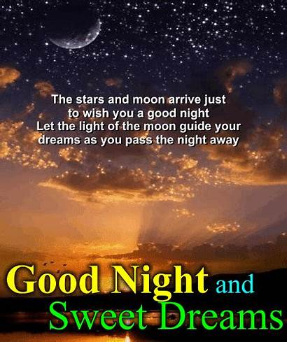 Wishes Dreams Sweet Quotes Wish Goodnight Night