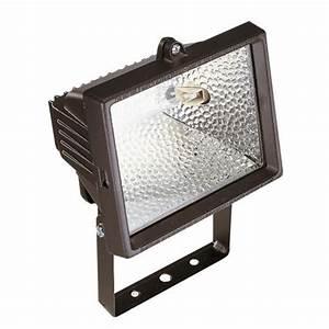 Remplacement Lampe Halogene 500w Par Led : projecteur halog ne 500 watts noir achat vente ~ Edinachiropracticcenter.com Idées de Décoration