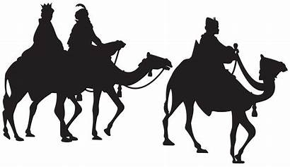 Kings Silhouette Wise Three Camel Clipart Clip