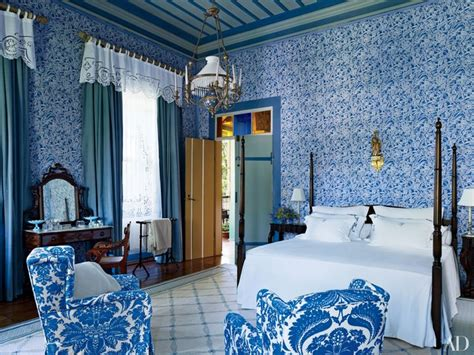 purple bedroom 30 rooms that showcase blue and white decor photos