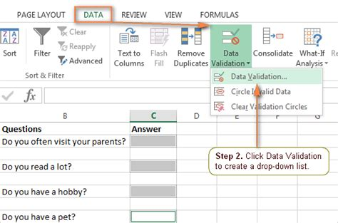 excel drop list how to create edit and remove data