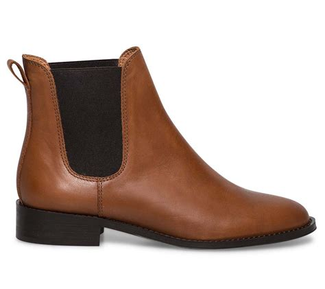 boots chelsea camel cuir