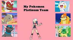 My Pokemon Platinum Team By Paperemonga On Deviantart