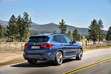 Bmw Launches Tech-savvy 2018 X3, Gets M40i Performance