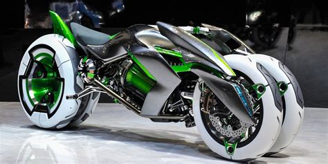 Kawasaki's New Concept Bike Is Insane