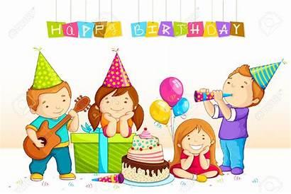 Birthday Party Clipart Celebration Boy Celebrating Happy