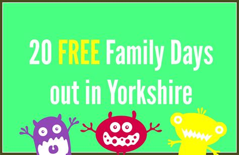 Free Family Days Out in Yorkshire - Kids Days Out Reviews