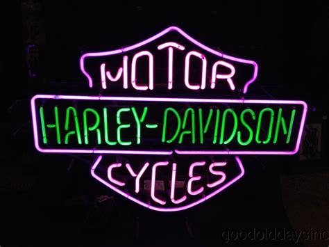 Harley Davidson Neon Sign Light