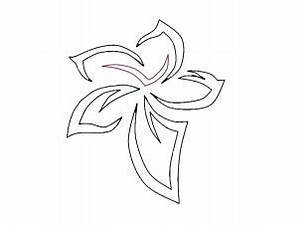 How to Draw a Tribal Flower Tattoo, Step by Step, Tattoos ...