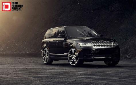 Black Range Rover Iphone Wallpaper by 2015 Klassen Range Rover Piano Black M50q Wheels Wallpaper