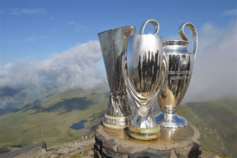 uefa super cup trophy journey daily blog faw