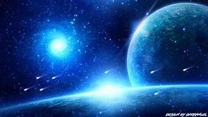 Blue Space by ItsDarkk on DeviantArt