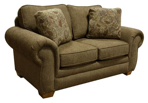 Microfiber Sofas With Nailhead Trim by Walters Sofa With Nailhead Trim Dunk Bright