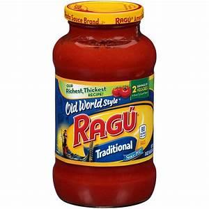 Ragu Old World Style Pasta Sauce, Smooth, Traditional, 26 ...