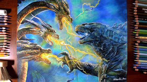King of the monsters, as its main antagonist, encountering rodan, mothra, and godzilla while vying for supremacy of the planet, and its titans. Drawing Godzilla & Ghidorah from Movie[Godzilla: King of ...