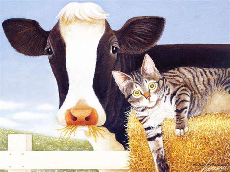 Lowell Herrero American Cat Art Paintings Cats