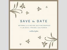Customize 4,985+ Save The Date Invitation templates online