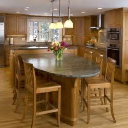 granite top island kitchen table dining table kitchen island dining table