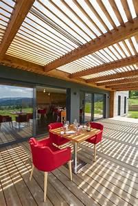 Restaurant Design Et Moderne  U00e0 Ossature Bois En 2020