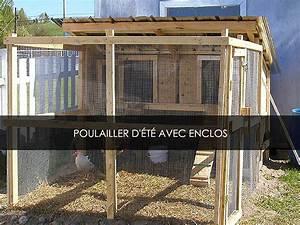 Construire Enclos Pour Chats : construire un poulailler avec enclos blogue de jardinage bricolage et autosuffiance ~ Melissatoandfro.com Idées de Décoration
