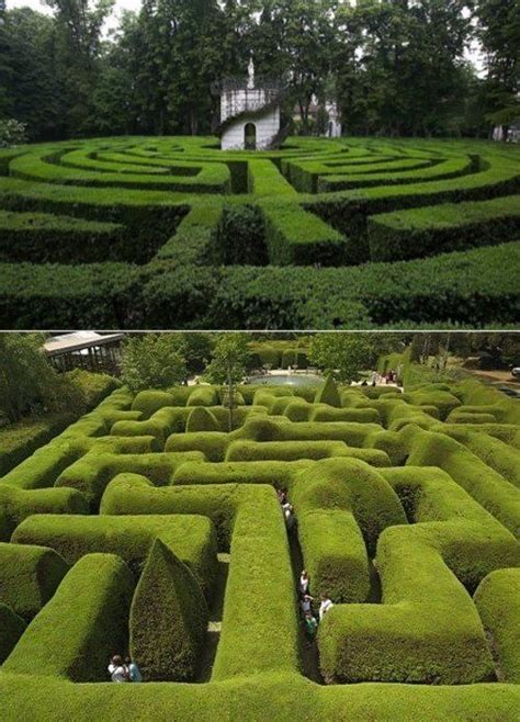 Outdoor Labyrinth Maze