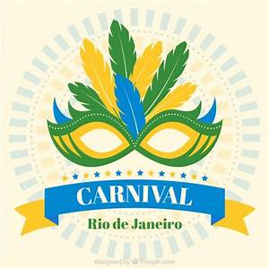 Brazilian carnival nask Vector | Free Download