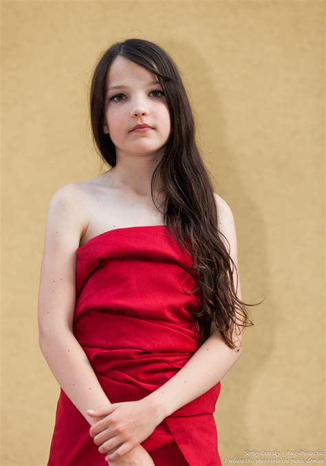 Photo Of A Preteen Brunette Catholic Girl Photographed In July 2015 Picture 1