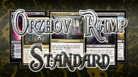 Orzhov Deck Standard 2015 by Debt Of The Deathless In Standard Sure Theros