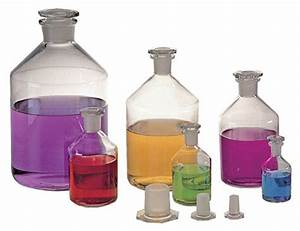 SKS Science Products - Glass Laboratory Bottles, Narrow ...