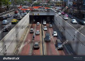 Bangkok Thailand February 18 2017 Tunnel Stock Photo 582119590
