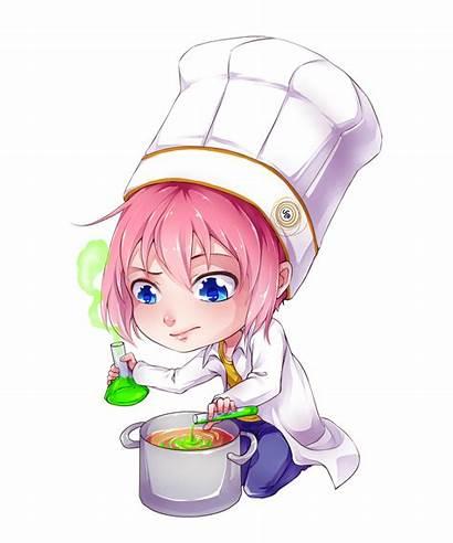 Manga Chimiste Science Cuisine Chimie Chef Dessin