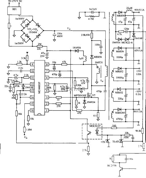 Different Ac Wiring Diagram by Ac To Dc Power Supply Circuit Motor Send104b