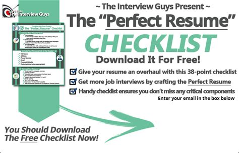 The Guys Resume by Resume Components Order