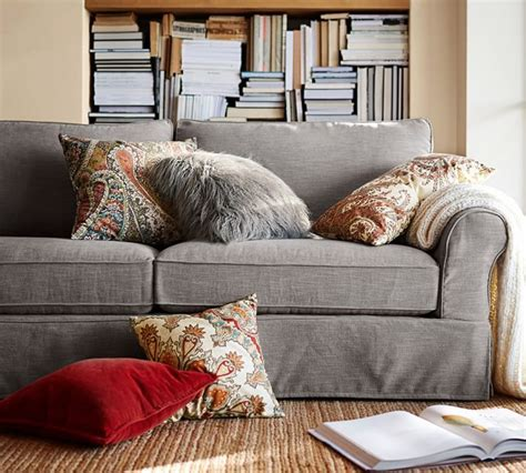 slipcovers that fit pottery barn sofas pb comfort roll arm slipcovered sofa barn pottery barn