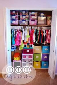 Closet organization ideas - Kid to Kid