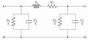 Pi Model Of The Power Transmission Line Adopted For The