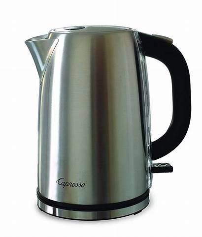 Kettle Water Capresso Electric Steel Tea H2o