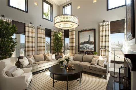Hamptons Inspired Luxury Home Living Room Robeson Design