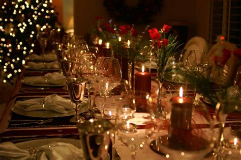 elegant christmas table settings ideas how to prepare your home for a festive party life